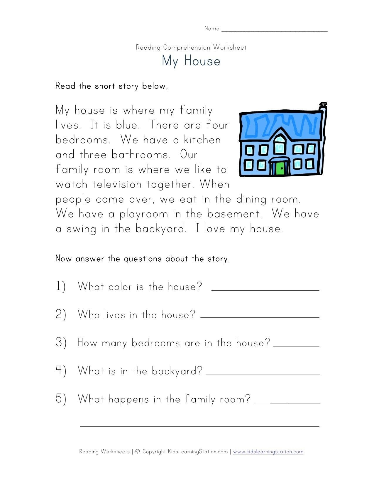 Metaphor Worksheets