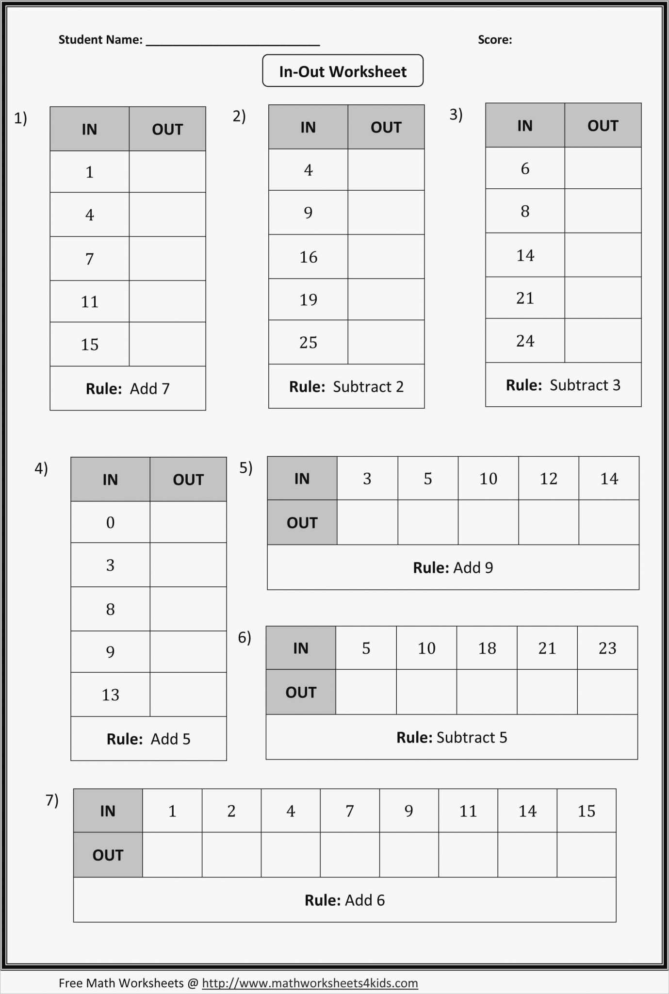 Worksheet Multiplying Brackets
