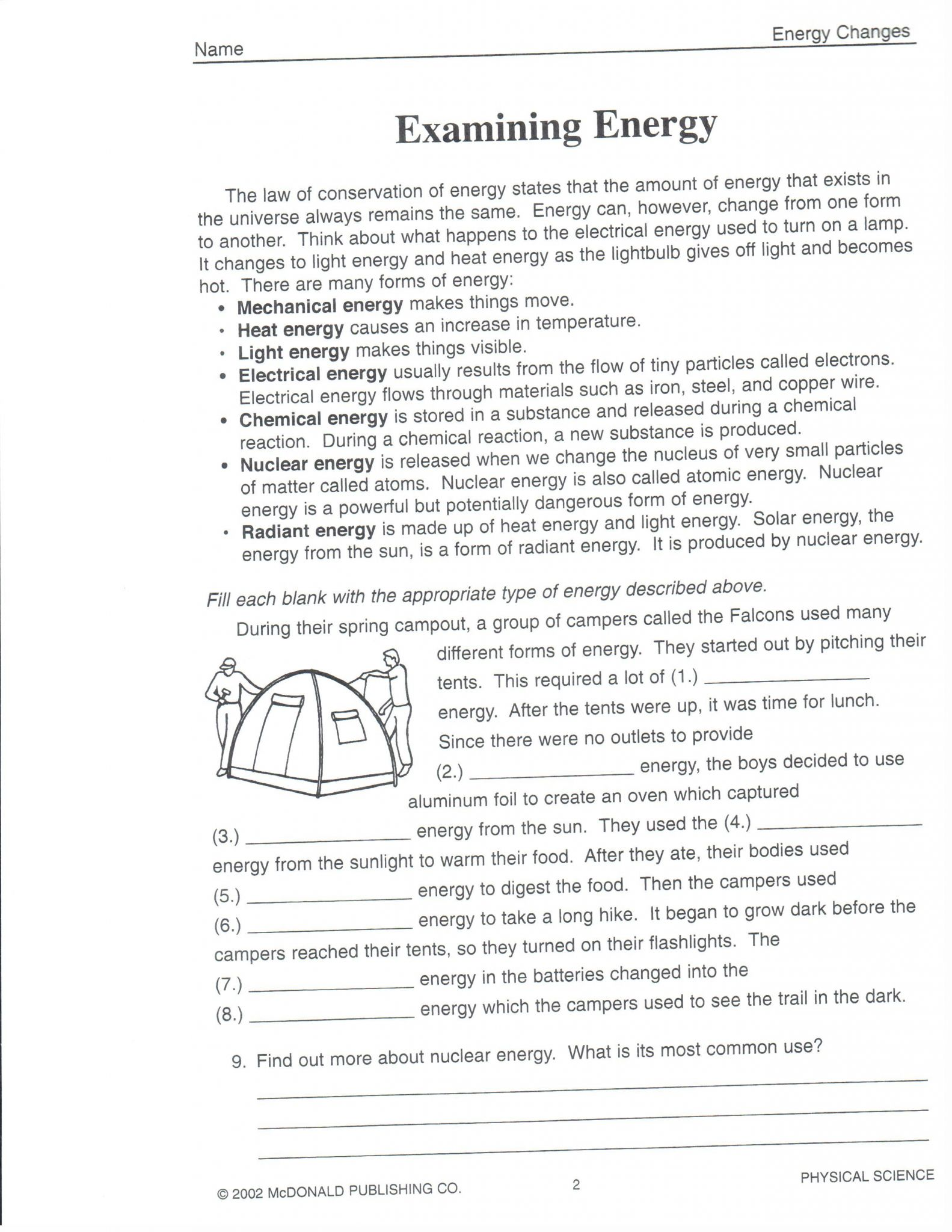 32 The Force Of Moving Water Worksheet Answers