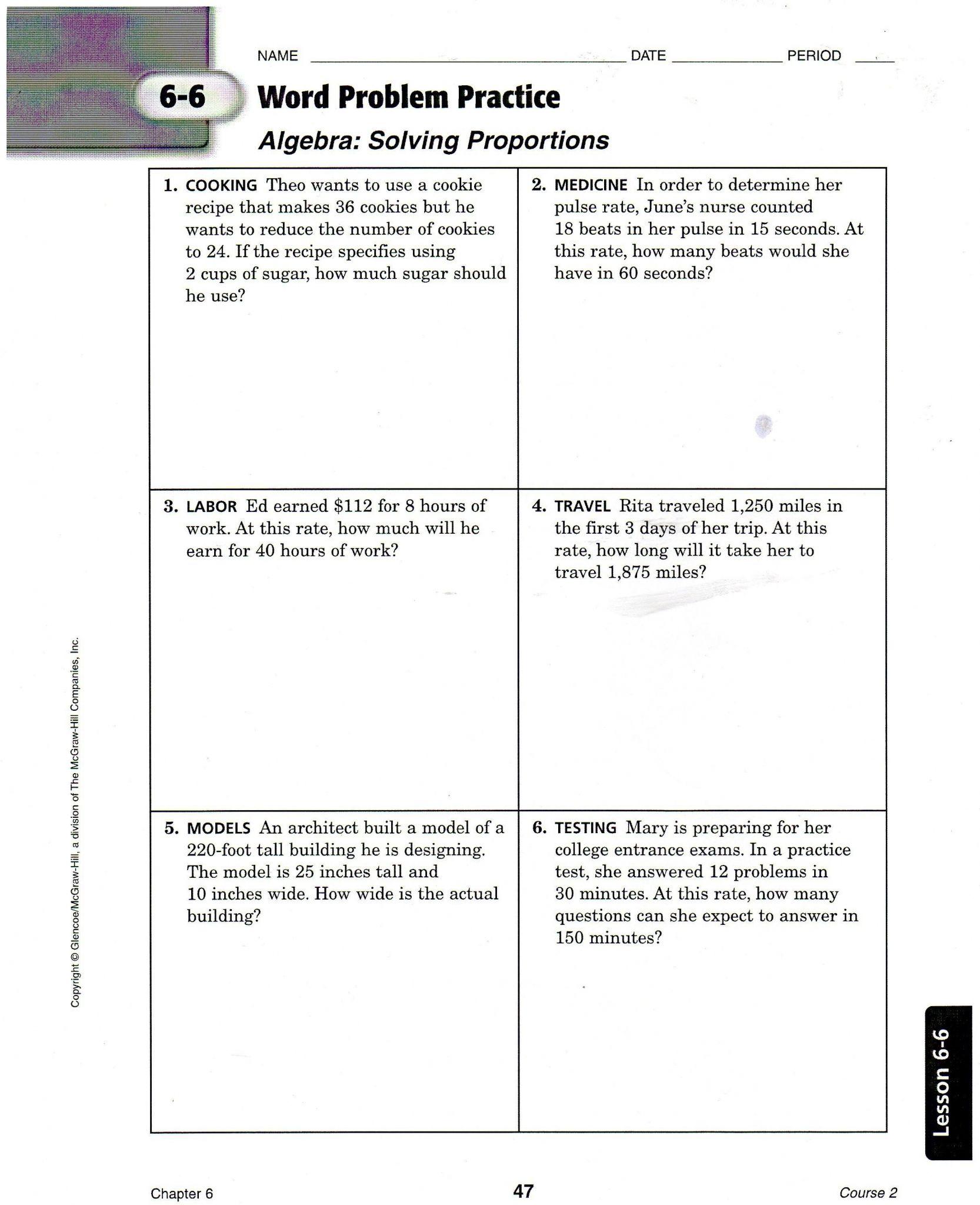 Order Of Operations Worksheet 7th Grade