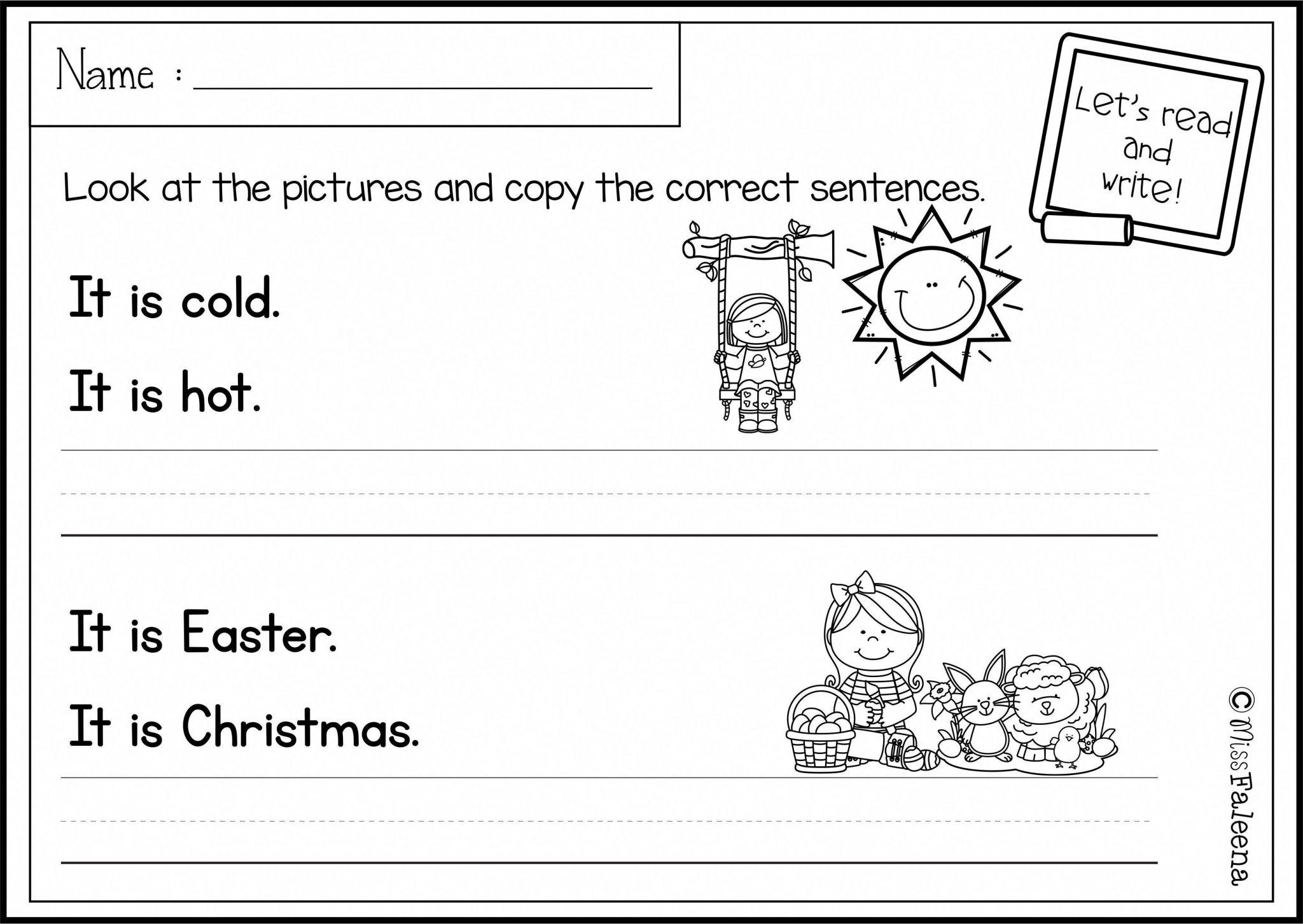 Paragraph Editing Worksheets