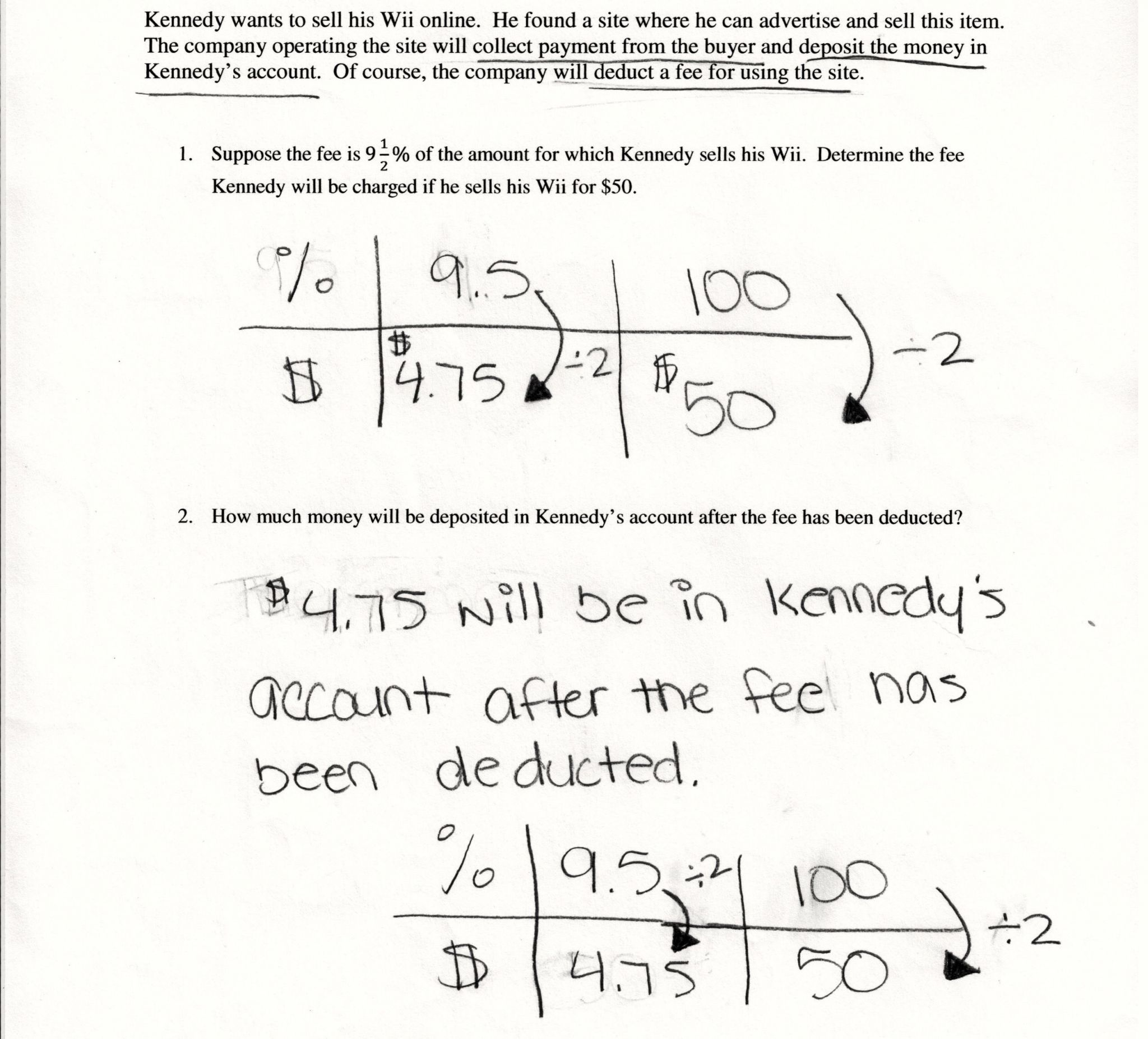 Percent Increase And Decrease Word Problems Worksheet