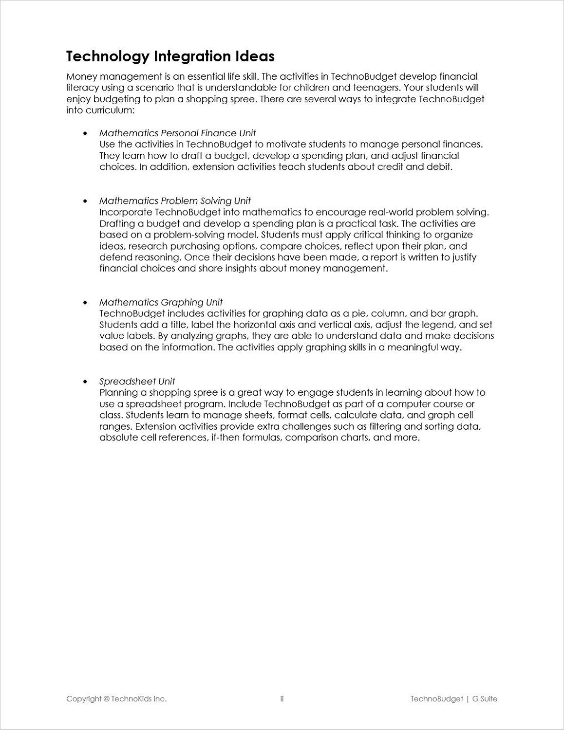 Personal Finance Worksheets For Highschool Students
