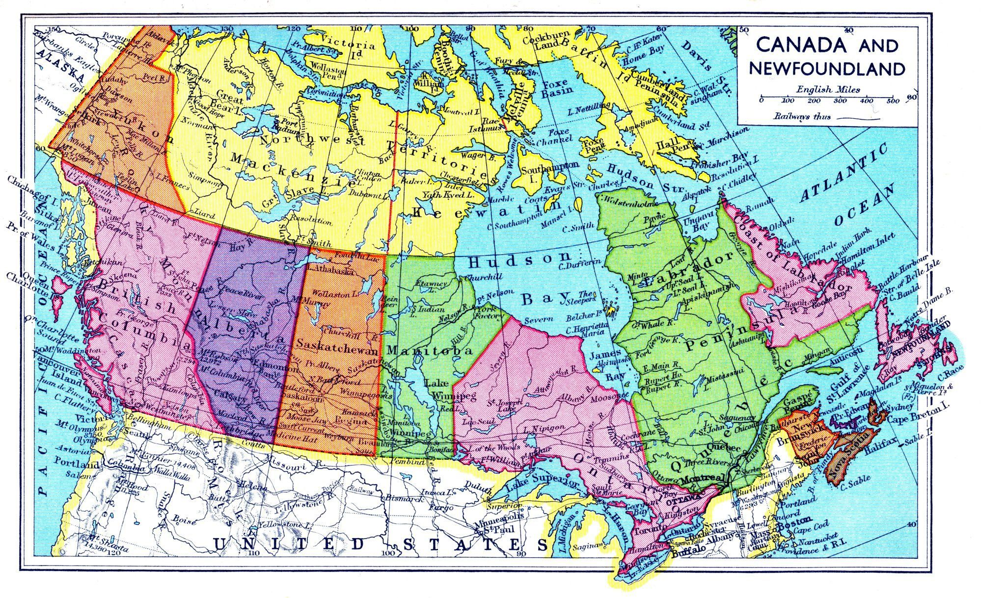 Physical Geography Of The United States And Canada