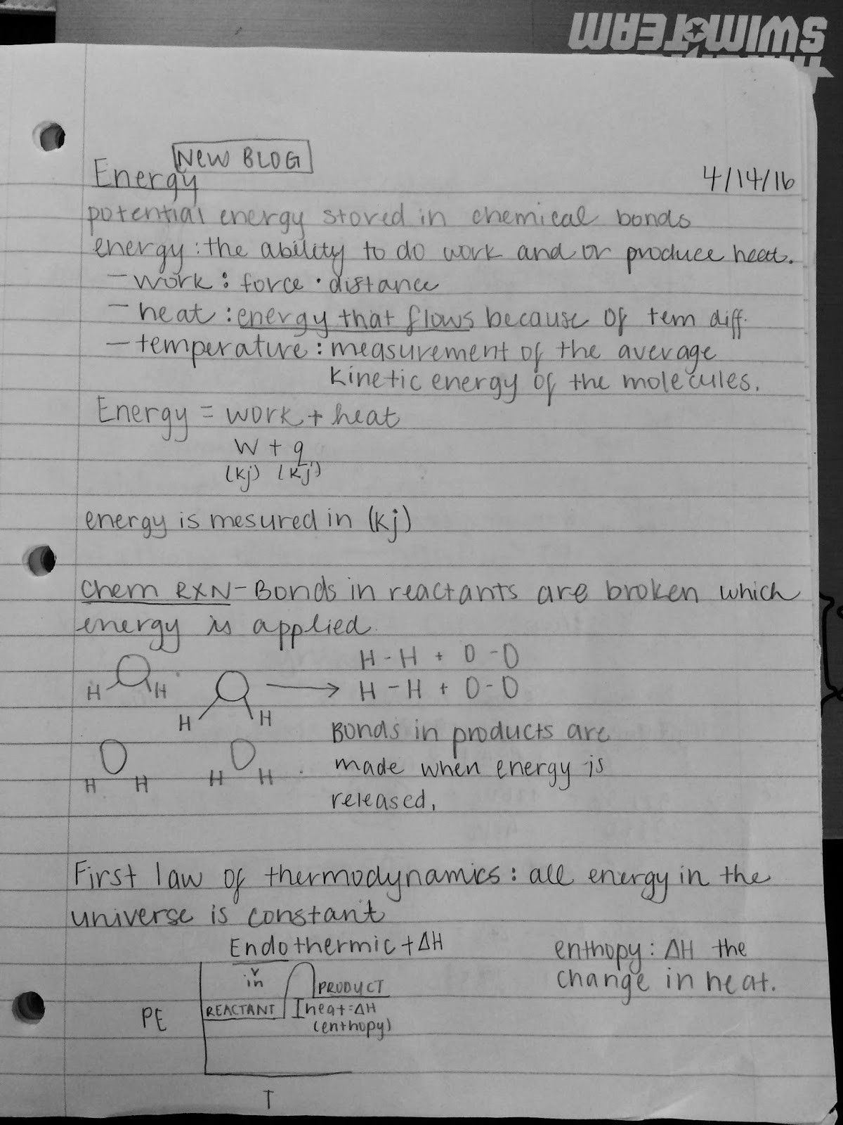 Potential And Kinetic Energy Worksheet Answer Key