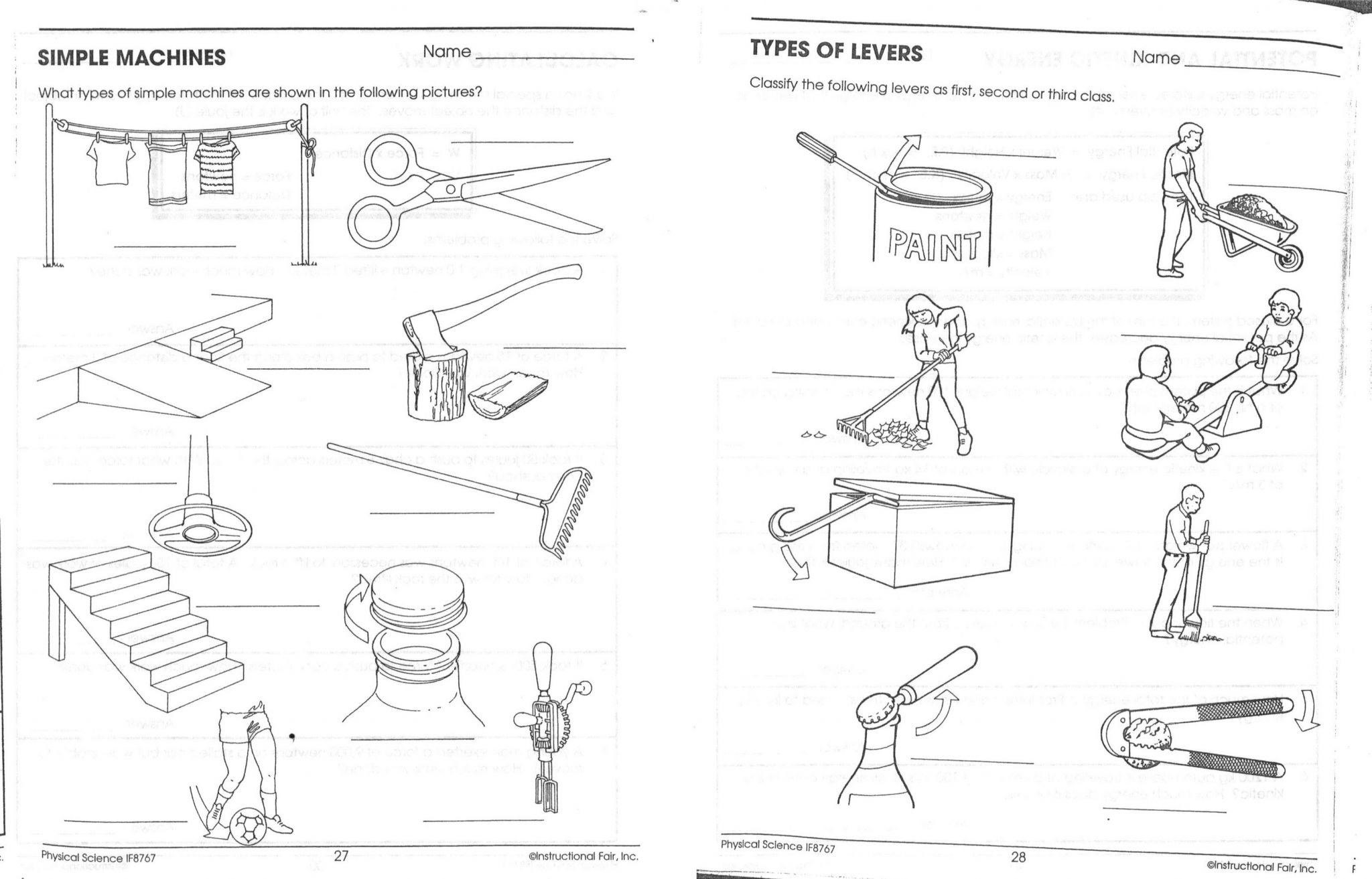 Potential Energy And Kinetic Energy Worksheet Answers