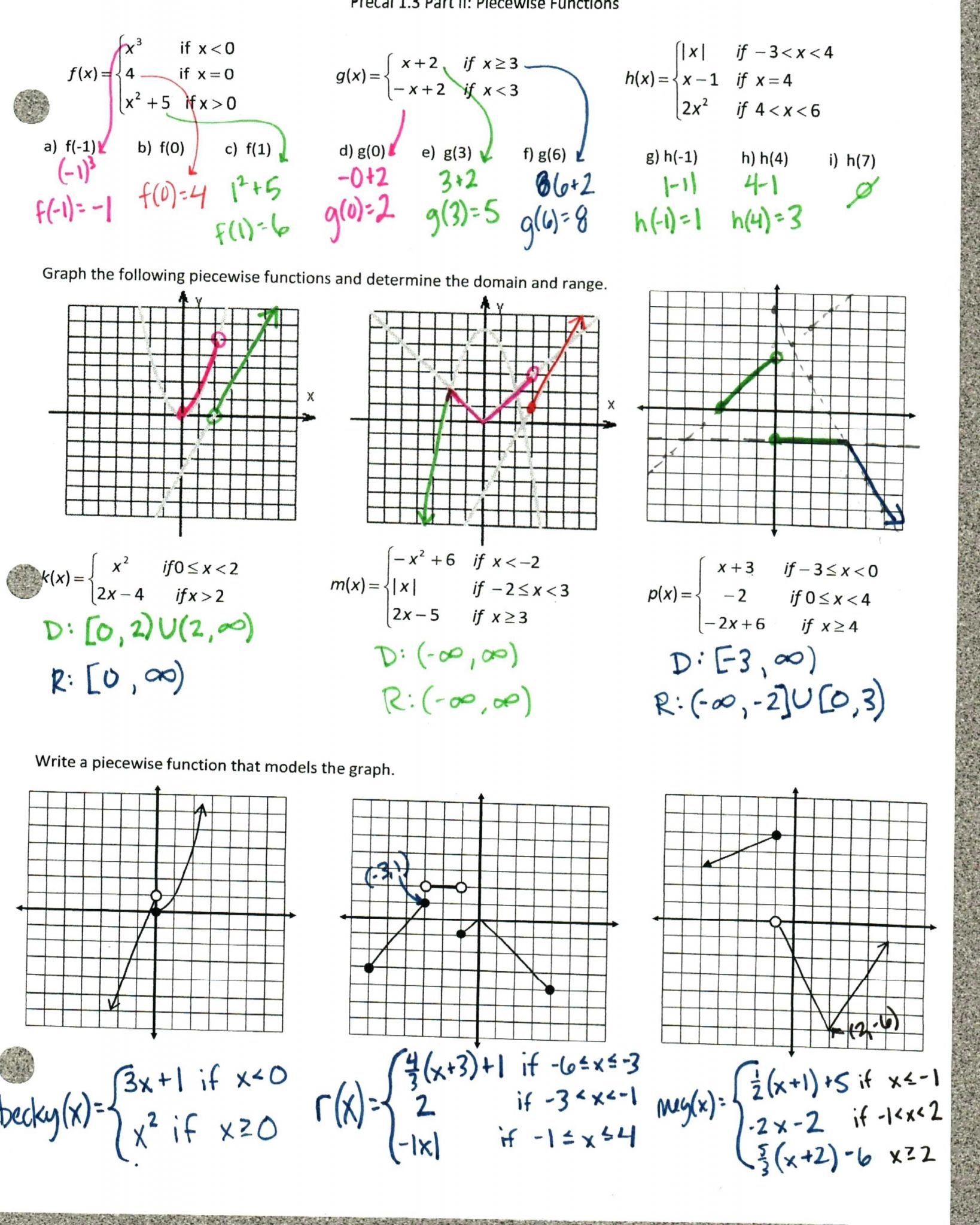 Worksheet Graphing Quadratics From Standard Form Answers
