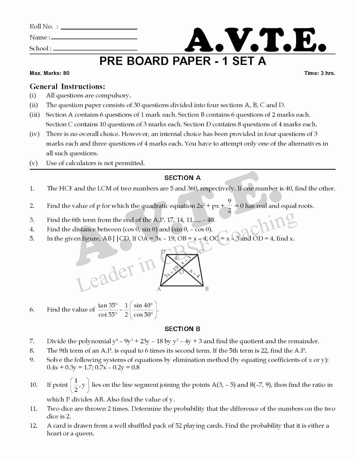 Rational Exponents Equations Worksheet