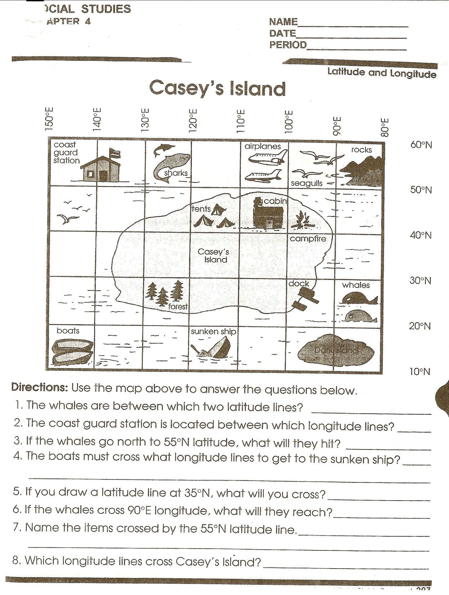 Weather Map Worksheet Grade 5