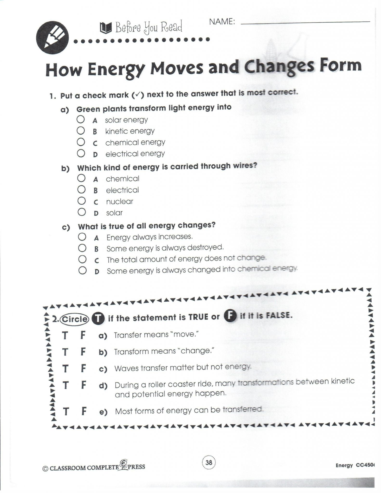Roller Coaster Physics Worksheet Answers