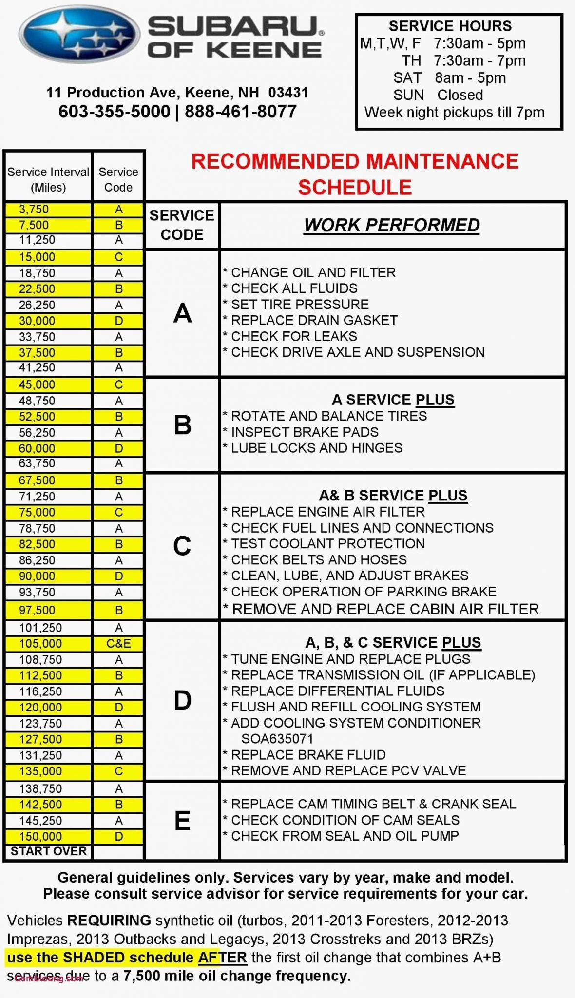 Schedule C Worksheet