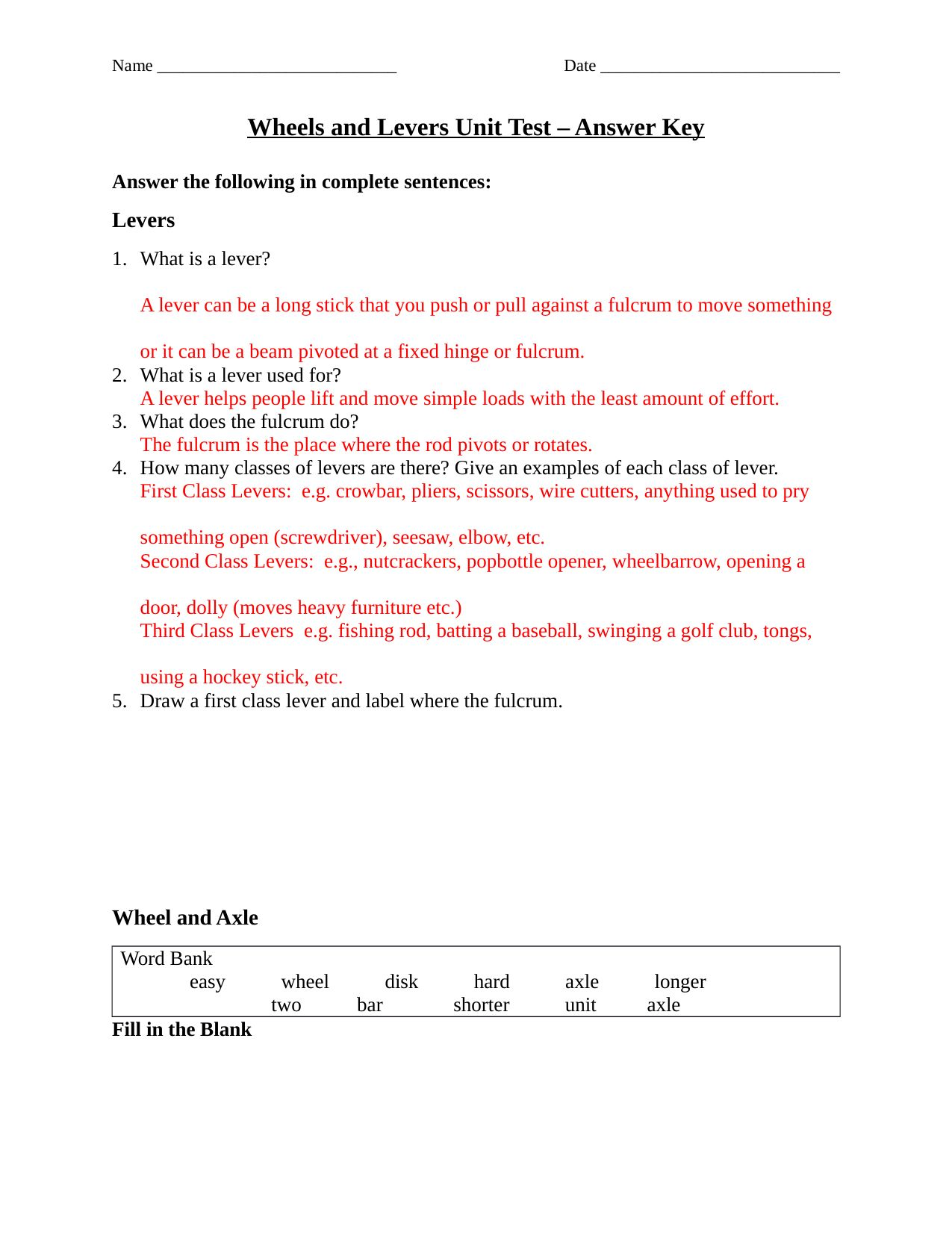 Scientific Method Worksheet 5th Grade