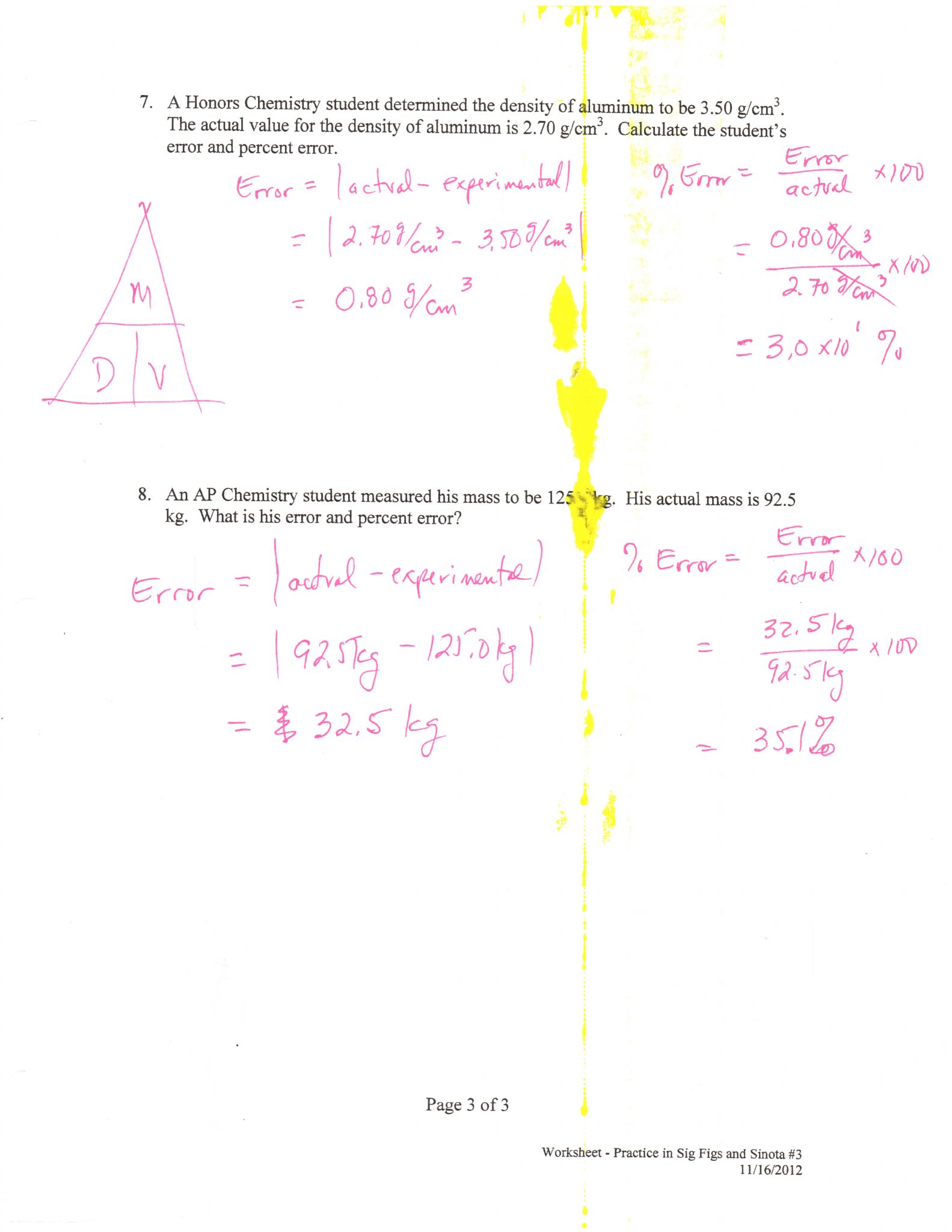 Scientific Notation Practice Worksheet
