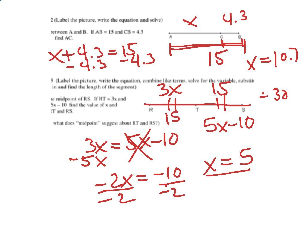 31 Angle Addition Postulate Worksheet Answers