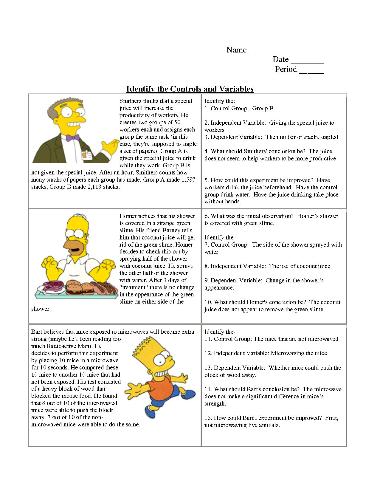 Skills Worksheet Critical Thinkingogies Environmental