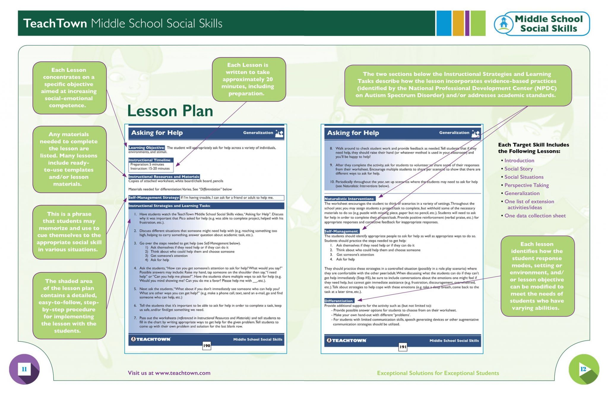 Social Skills Worksheets For Autism