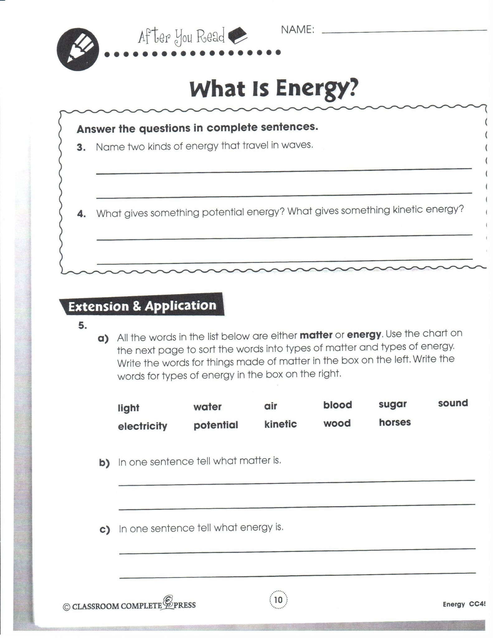 Frequency And Wavelength Simple Worksheet Printable Worksheets And Activities For Teachers Parents Tutors And Homeschool Families