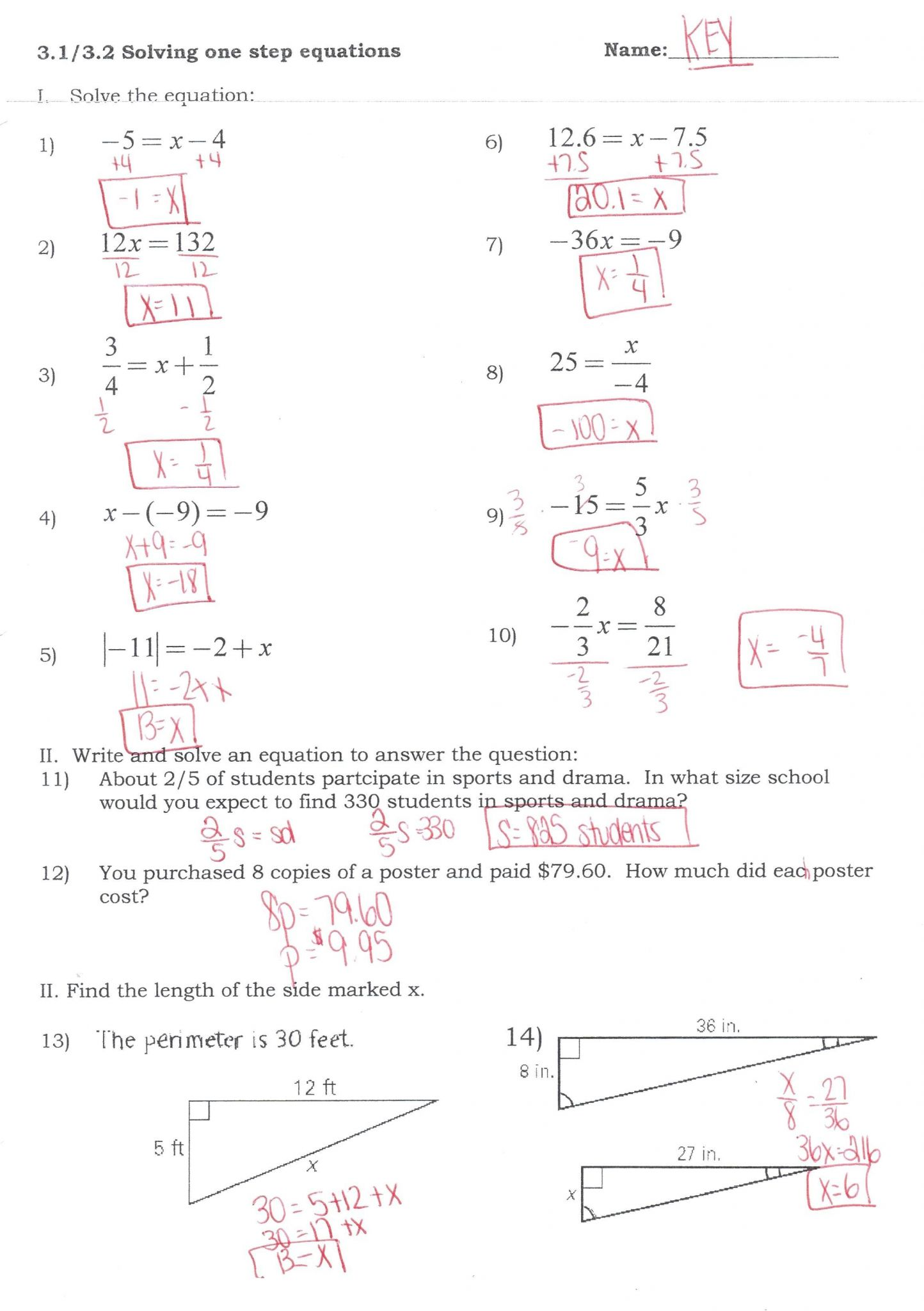 Solving Equations By Substitution Worksheet