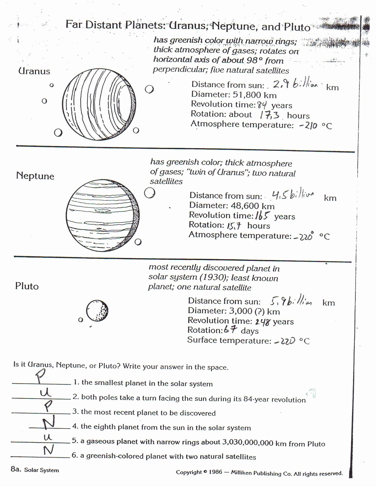 The Bill Of Rights Worksheet Answers