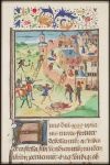 The storming of Jerusalem by the Crusaders Fol 178r The Crusades Me val Manuscript