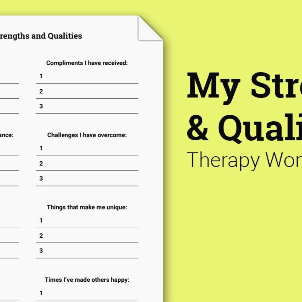 Therapist Aid Worksheets