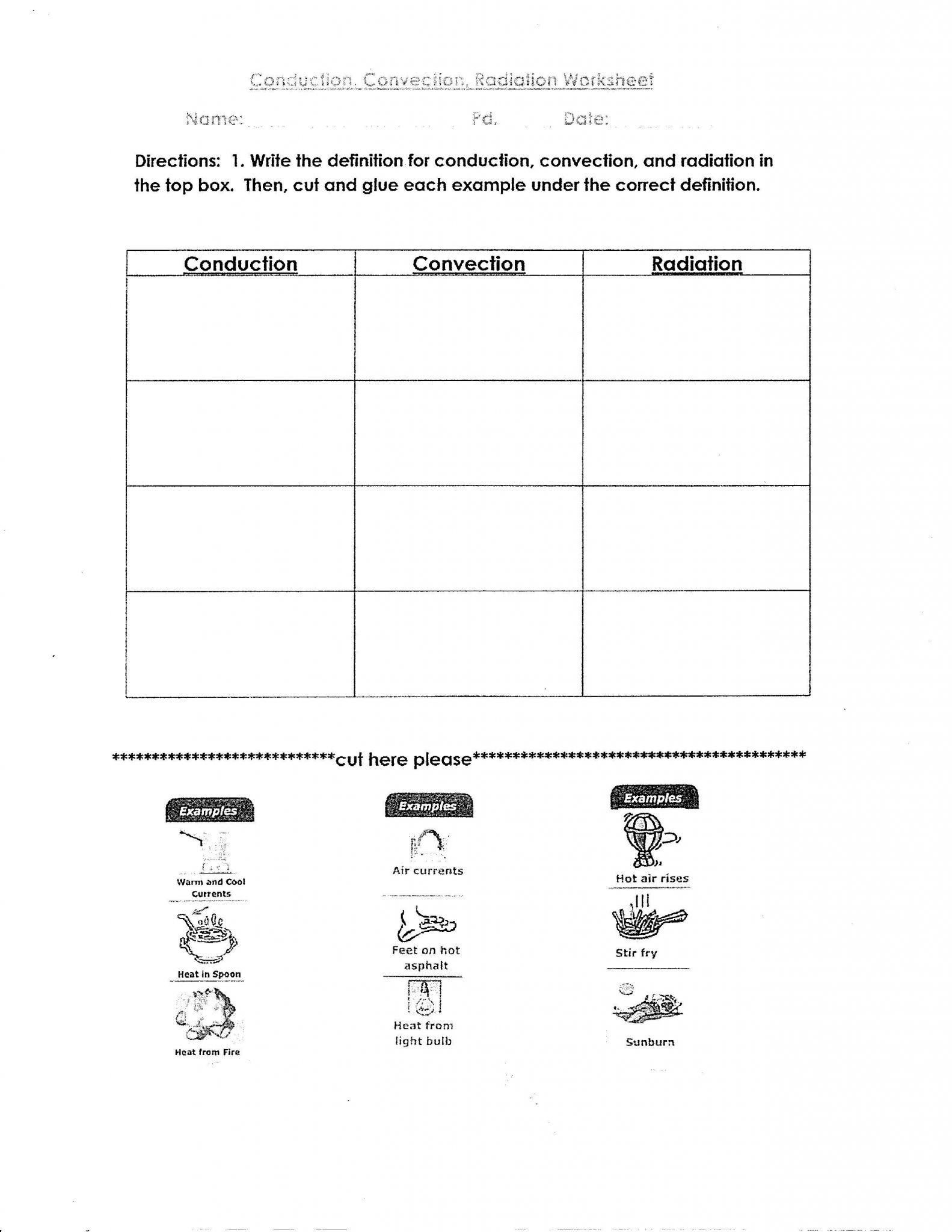 Light Me Up Math Worksheet