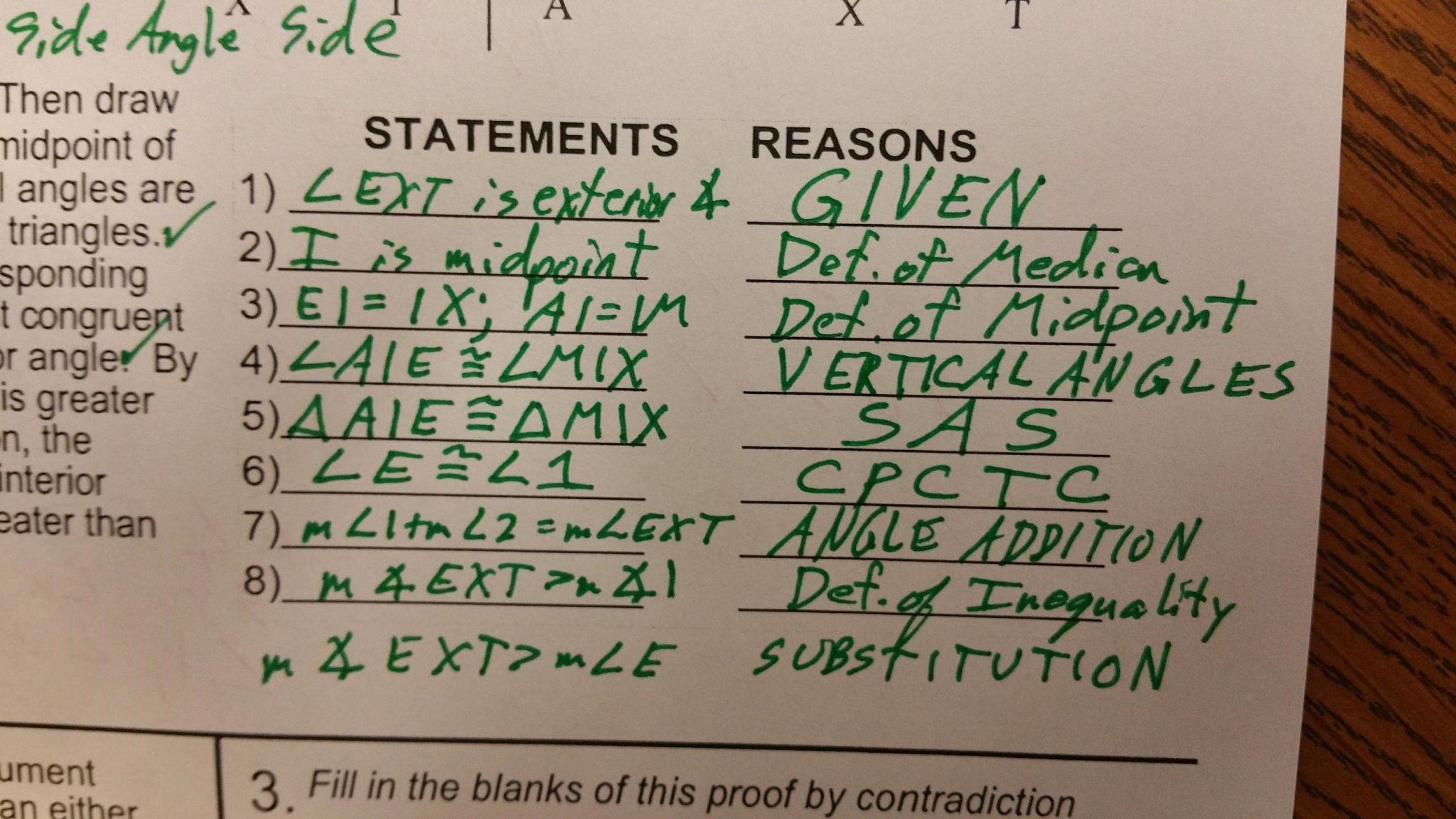 Triangle Angle Sum Worksheet Answer Key