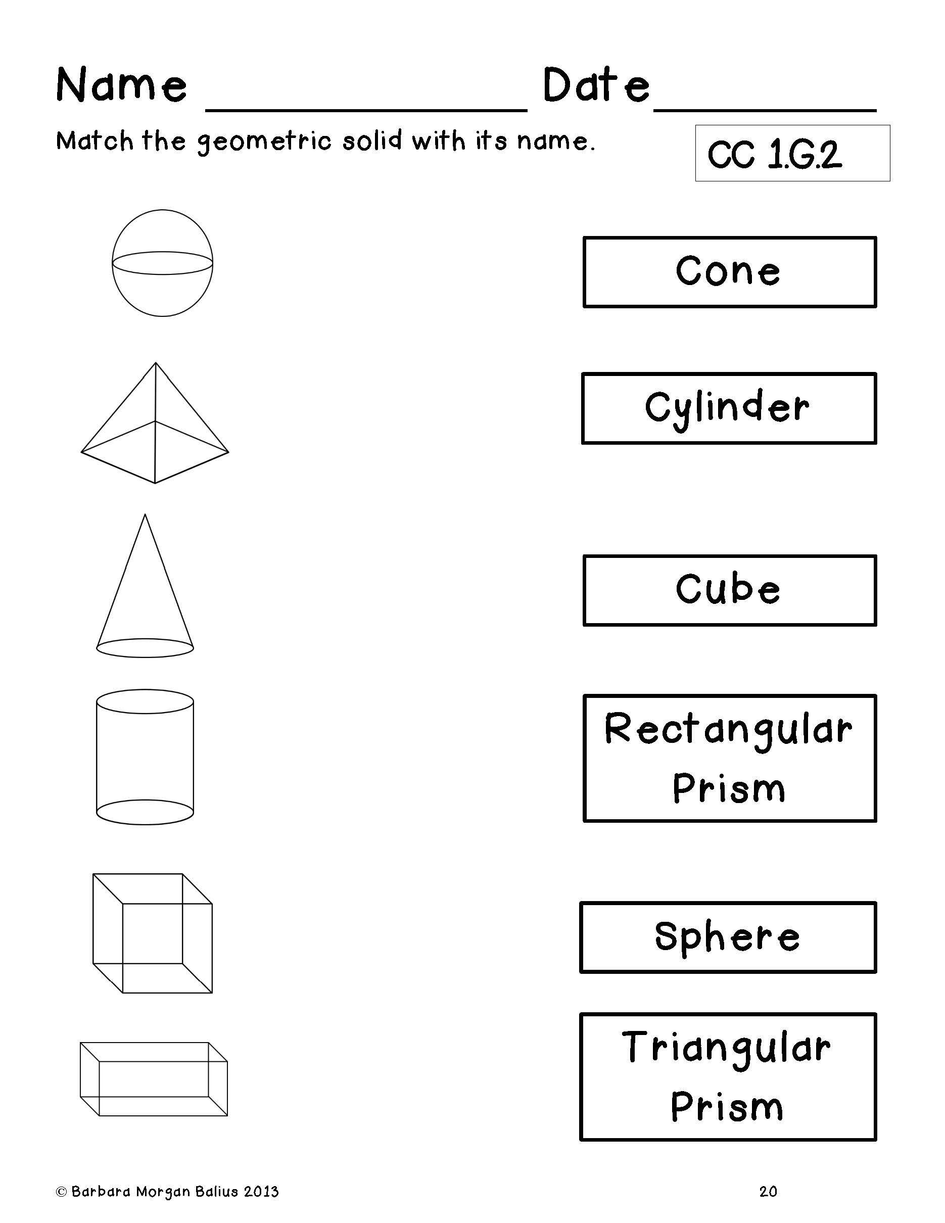 Volume Of Rectangular Prism Worksheet