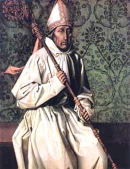 Der Heilige Teotonius oder auch Theotonius von Coimbra.