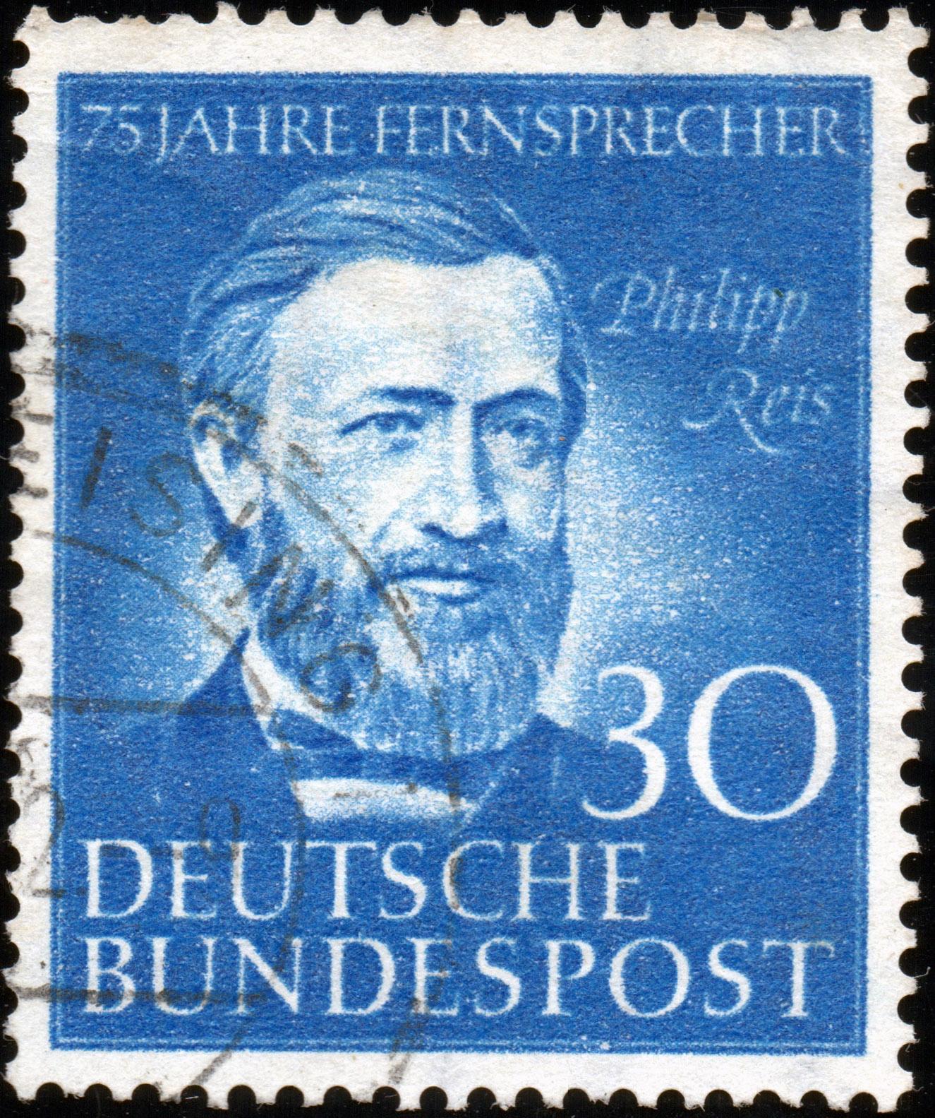 Brief Nach Hamburg Briefmarke : Deutsche bundespost jahre fernsprecher