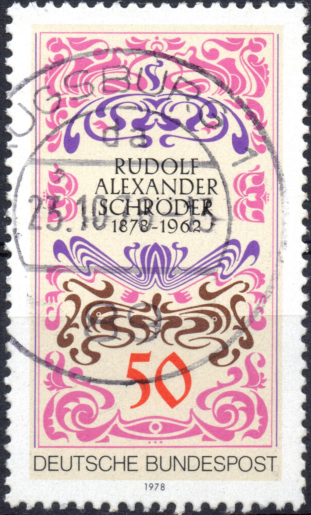Brd Deutsche Bundespost Briefmarke Briefmarken Sammlunginfo