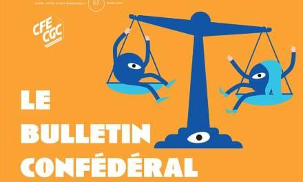 Bulletin Confédéral CFE-CGC n°63
