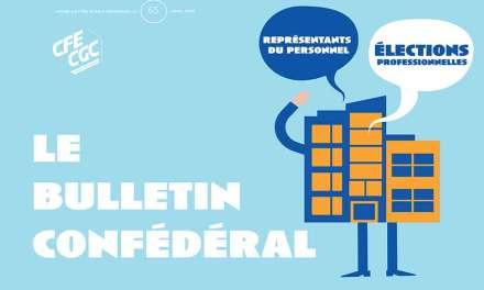 Le Bulletin Confédéral n°65 de la CFE-CGC
