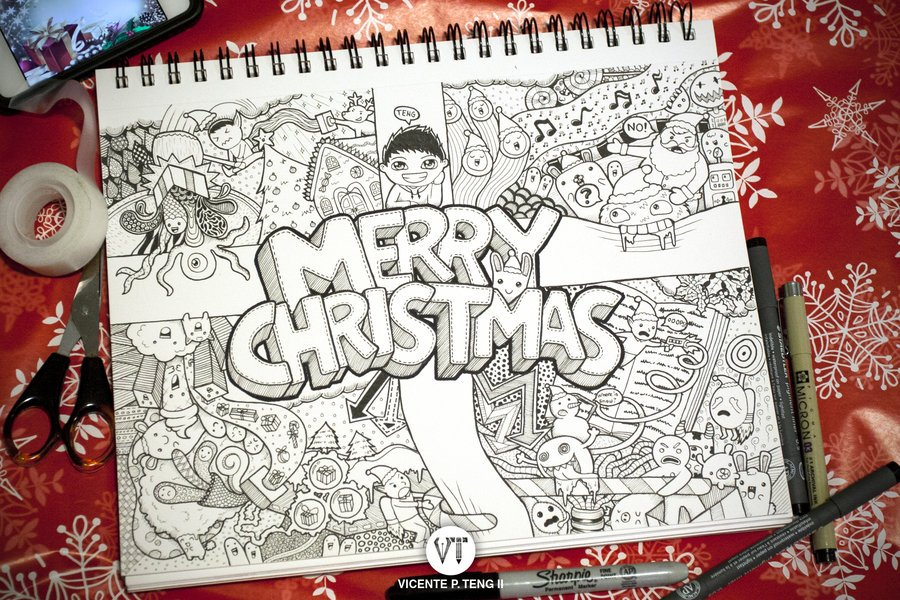 Merry Christmas Original Greetings