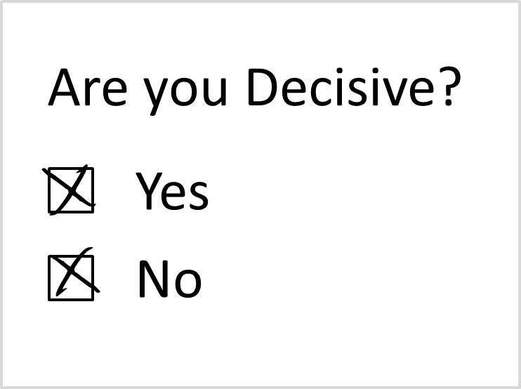 Image result for Are You Decisive?