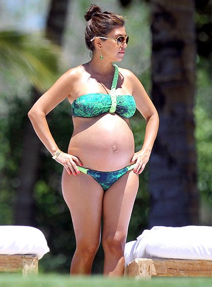 Pregnant Celebrities Not An Isolated Period