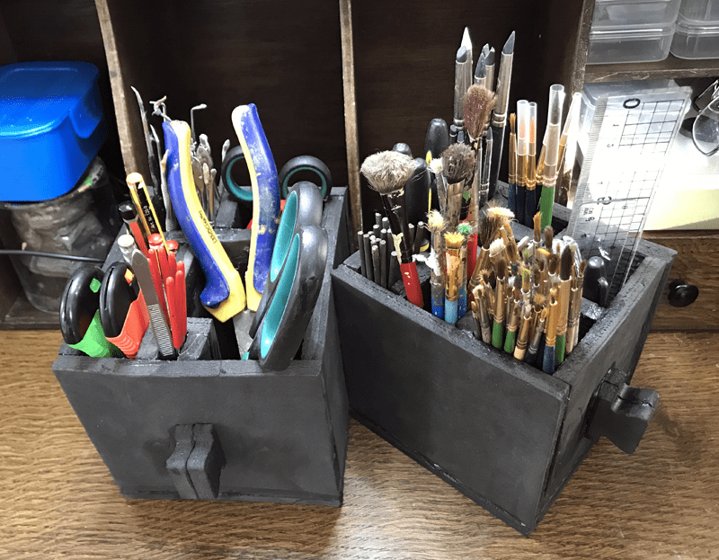 Time for a Desk Tidy