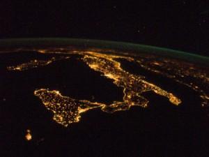 Italia dalla ISS