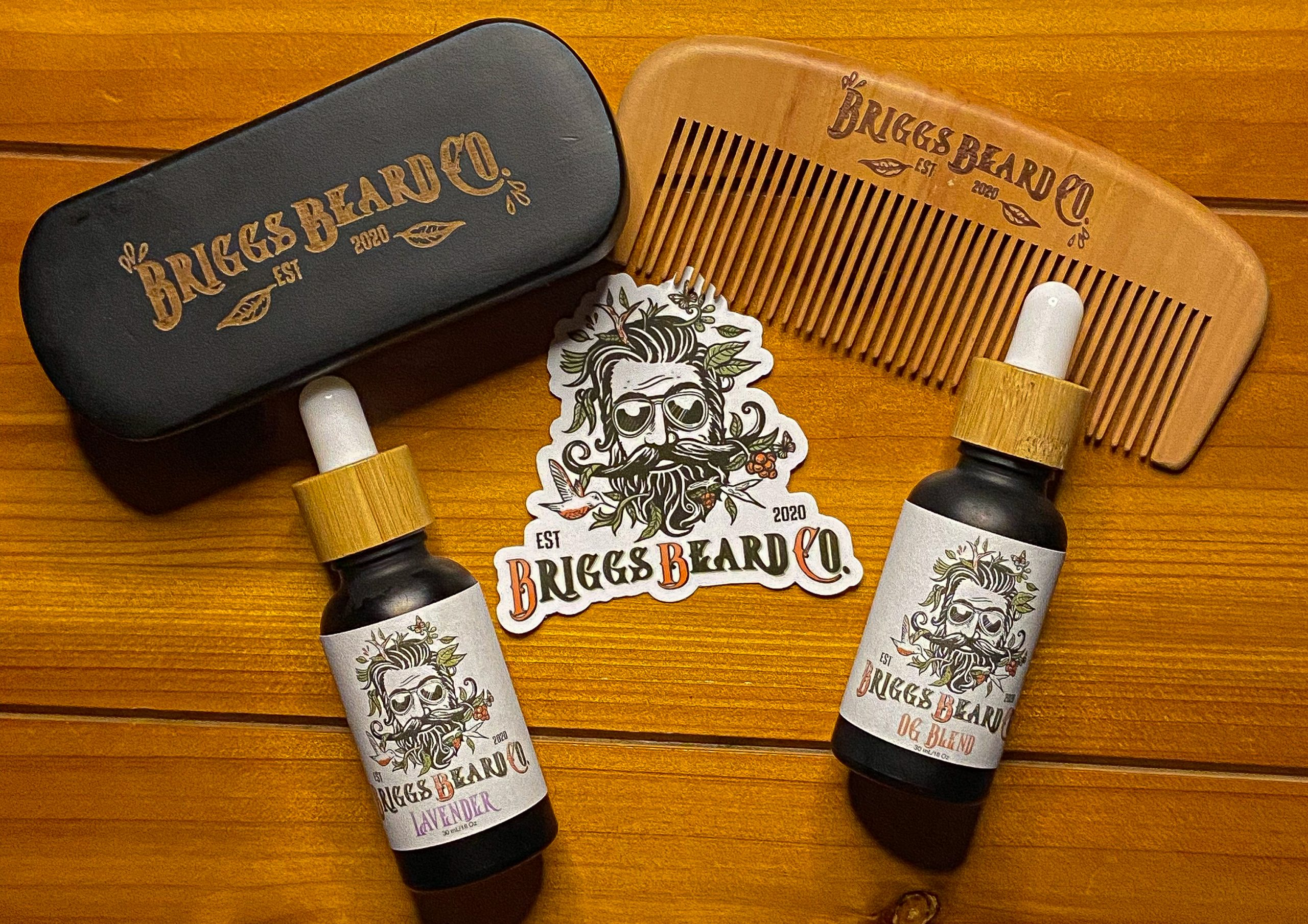 Briggs Beard Co updated Beard Bundle