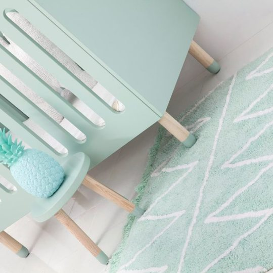 Finding The Perfect Nursery Rug…And It's Machine Washable!