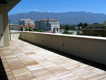 The penthouses come with spacious patio decks with amazing views