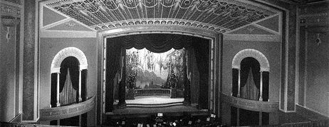 Interior view of what used to be the Jensen Raymond Theatre from the Raymond Renaissances website
