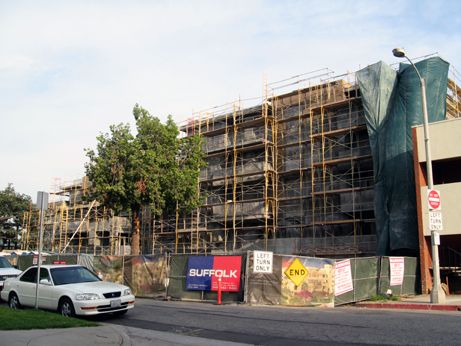 Granite Park, a luxury condo project, is progressing slowly in line with market conditions