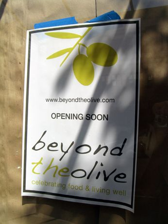 Beyond The Olive is opening up in the former Rock Island Wrap restaurant in Old Pasadena