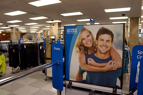 Ross carries clothing for women and men