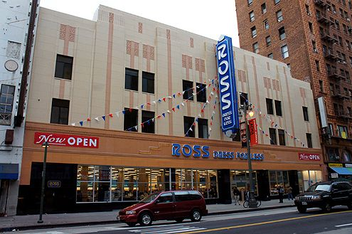 The new 39,000 SF Ross store is now open inside the historic 1920 Woolworth Building on Broadway