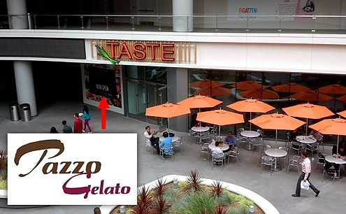 Pazzo Gelato, offering hundreds of flavors, will be opening in Downtown LA this summer at FIGat7th