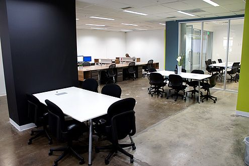 Shared and private desks along with conference room available at Opodz