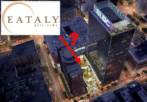 Rumors have it that New York's enormously popular Eataly restaurant and market is in serious discussion to open as part of Macy's Plaza's $160 million makeover (Photo: The Bloc)
