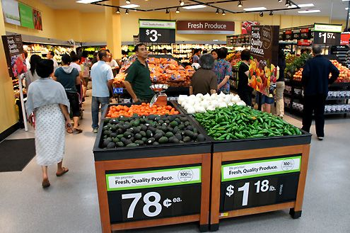 A new Walmart Neighborhood Market opened this past Friday in Downtown LA's Chinatown